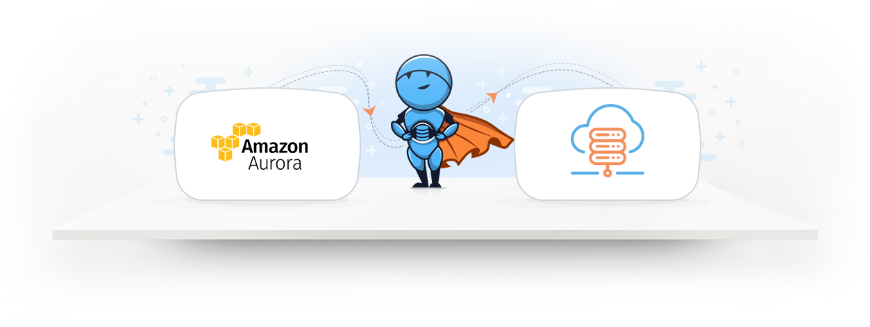 Integrate Amazon Aurora data with a cloud data warehouse 1