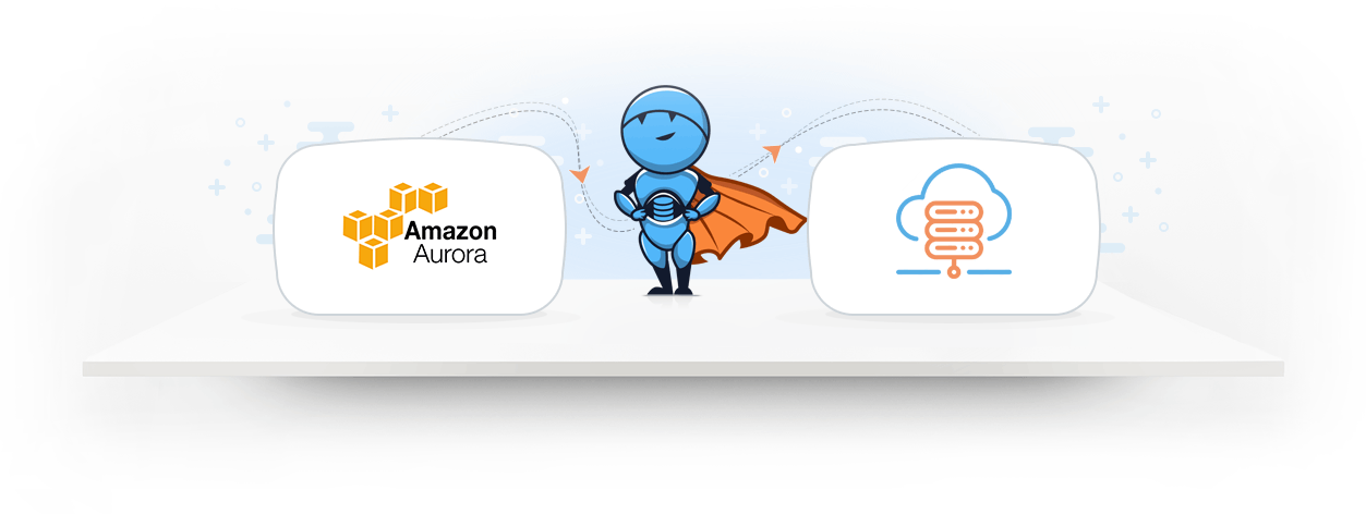 Integrate AWS Aurora data with a cloud data warehouse 1