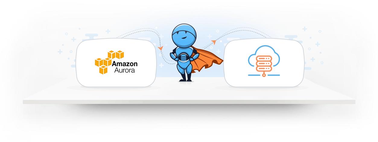 Integrate AWS Aurora data with a cloud data warehouse 1