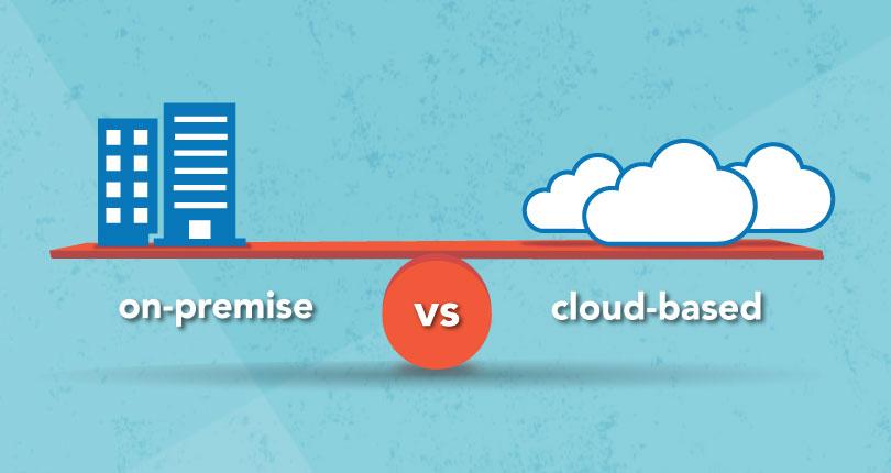 on-prem data warehouse vs cloud data warehouse
