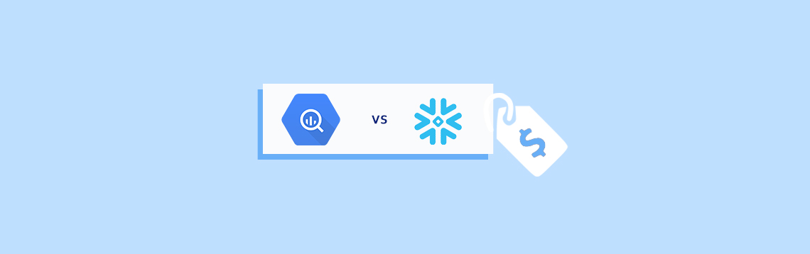 Bigquery Vs snowflake Pricing