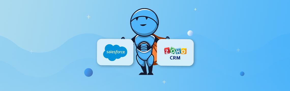 Salesforce vs Zoho CRM