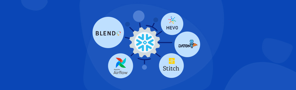 top 5 ETL tools for Snowflake