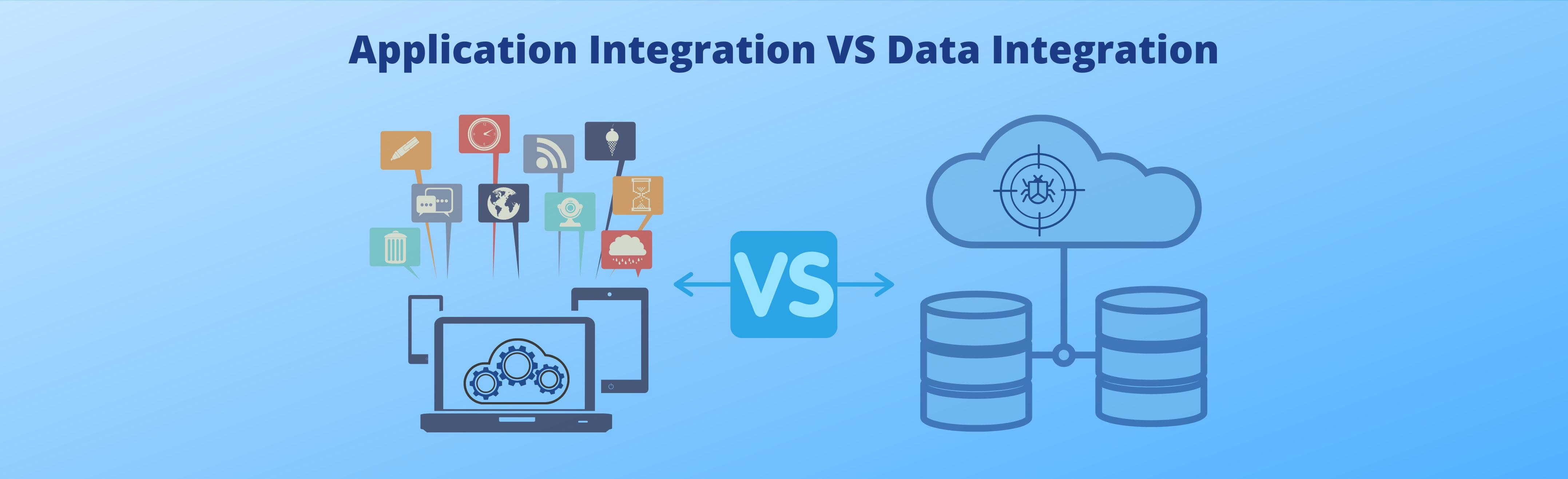 Application integration vs Data integration