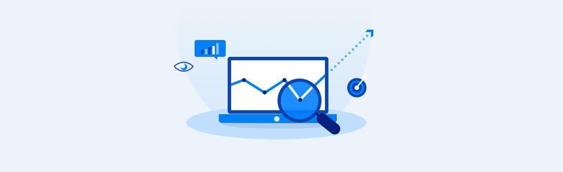 product performance using Google analytics