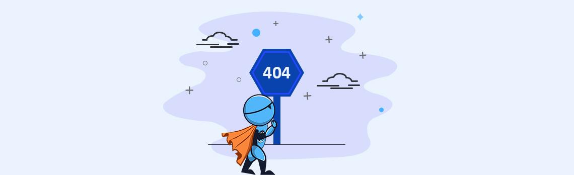 soft 404 error page
